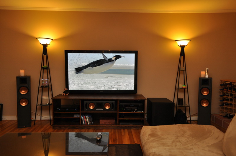My home theatre for Living room home theater