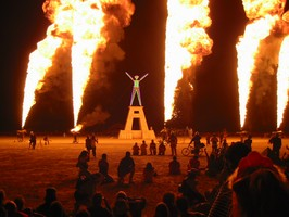 Burning Man 2001